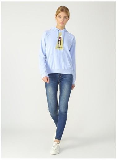 Derin Mermerci X Boyner Sweatshirt Mavi